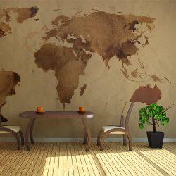 Fotótapéta - Tea világtérkép ll