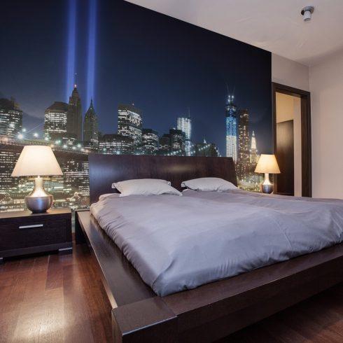 Fotótapéta - Floodlights over NYC  -  ajandekpont.hu