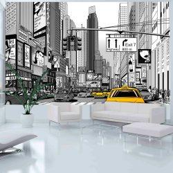 Fotótapéta - Sárga taxik in NYC  -  ajandekpont.hu