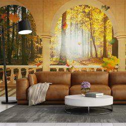 Fotótapéta - Dream about autumnal forest ll