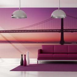 XXL Fotótapéta - bay - San Francisco    550x270 cm