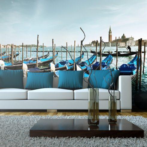 XXL Fotótapéta - Gondola a Grand Canal, Velence    550x270 cm