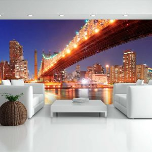 XXL Fotótapéta - Queensborough Bridge - New York    550x270 cm