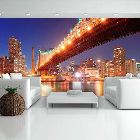 XXL Fotótapéta - Queensborough Bridge - New York    550x270 cm  -  ajandekpont.hu