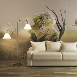 XXL Fotótapéta - desert - abstract pattern    550x270 cm