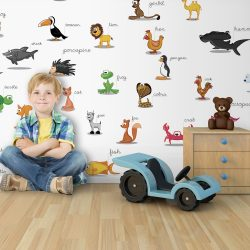 XXL Fotótapéta - animals (for children)  550x270 cm
