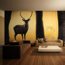 XXL Fotótapéta - Deer in his natural habitat  550x270 cm