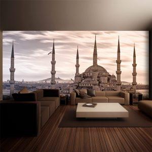 XXL Fotótapéta - Kék mecset - Isztambul    550x270 cm
