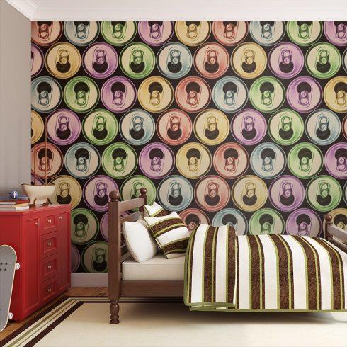 XXL Fotótapéta - cans - pop art   550x270 cm  -  ajandekpont.hu