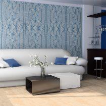 XXL Fotótapéta - Kék pulóver    550x270 cm
