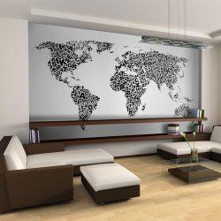 XXL Fotótapéta - Térkép a gondolatok    550x270 cm