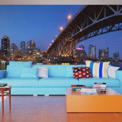 XXL Fotótapéta - Granville Bridge - Vancouver (Canada)    550x270 cm