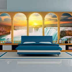 XXL Fotótapéta - Dream about Niagara Falls    550x270 cm
