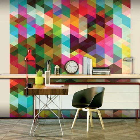 Fotótapéta - Colourful Geometry  -  ajandekpont.hu