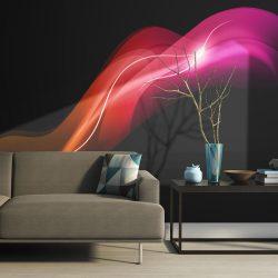 Fotótapéta - Abstract colorful jellyfish