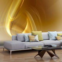 Fotótapéta - Gold fractal background