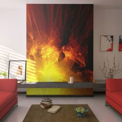 Fotótapéta - abstract - fire