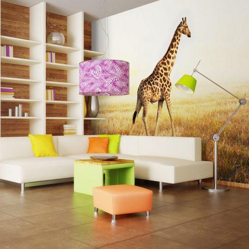 Fotótapéta - giraffe - walk  -  ajandekpont.hu
