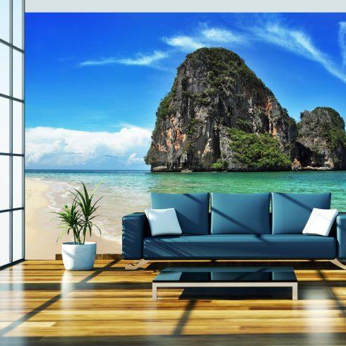 Fotótapéta - Egzotikus táj Thaiföld, Railay beach  -  ajandekpont.hu