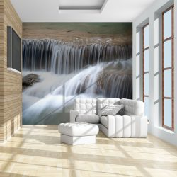 Fotótapéta - Waterfalls in Kanchanaburi, Thailand