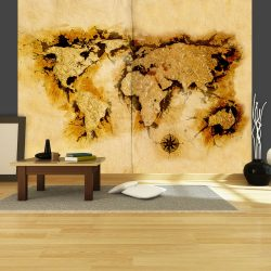 """Fotótapéta - Aranyásó """"világtérkép l"""