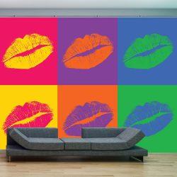 Fotótapéta - lips (pop art)