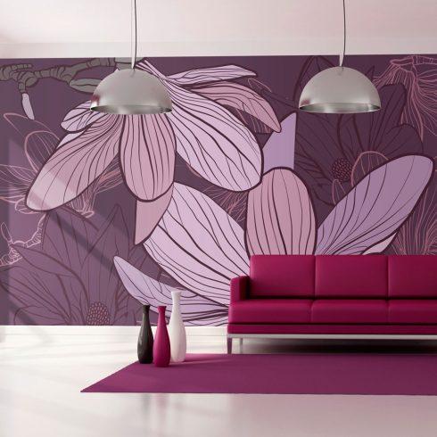Fotótapéta - Violet magnolias  -  ajandekpont.hu
