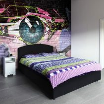 Fotótapéta - eye (graffiti)