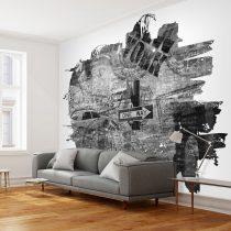 Fotótapéta - Black-and-white New York collage