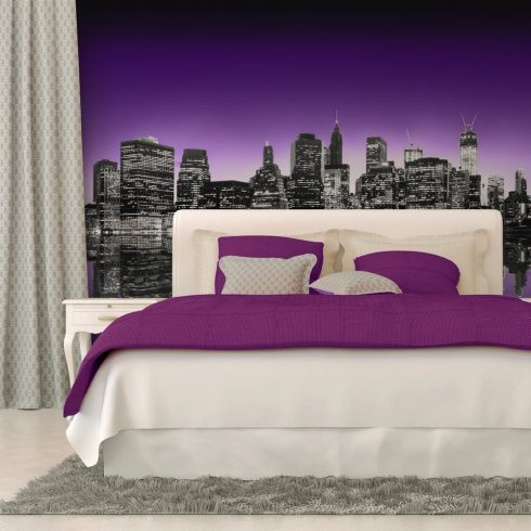 Fotótapéta - The Big Apple in purple color  -  ajandekpont.hu