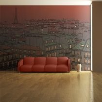 Fotótapéta - Afterglow Párizs felett