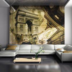 Fotótapéta - Párizsi kollázs