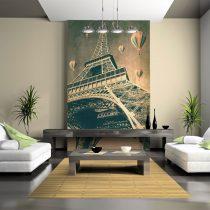 Fotótapéta - Balloons az Eiffel-torony