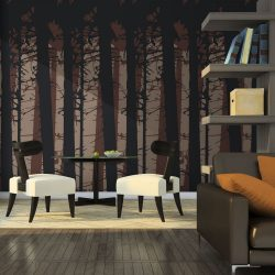 Fotótapéta - Abstract dark forest