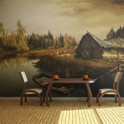 Fotótapéta - Desolate hut