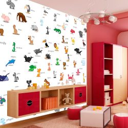 Fotótapéta - animals (for children) l
