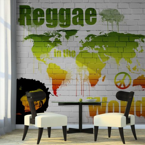 Fotótapéta - Reggae in the world  -  ajandekpont.hu