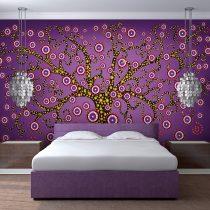 Fotótapéta  -  abstract: tree (violet) - ajandekpont.hu