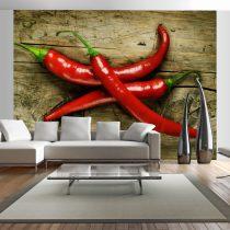 Fotótapéta - Spicy chili peppers
