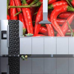 Fotótapéta - chili pepper - background