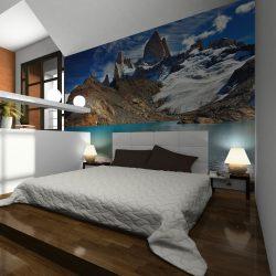 Fotótapéta - Mount Fitz Roy, Patagonia, Argentina