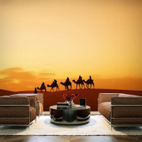 Fotótapéta - Caravan a Szahara sivatagban  -  ajandekpont.hu