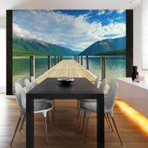 Fotótapéta - Hegyi tó híd
