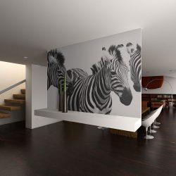 Fotótapéta - Three zebras  -  ajandekpont.hu