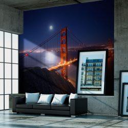 Fotótapéta - Golden Gate híd éjjel
