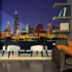 Fotótapéta - Chicago éjszakai élet