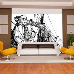 Fotótapéta - Saxophone recital on Broadway l