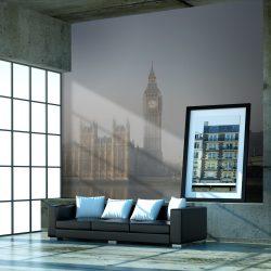 Fotótapéta - Palace of Westminster köd, London