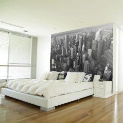 Fotótapéta - New York: skyscrapers (bird's eye view)  -  ajandekpont.hu