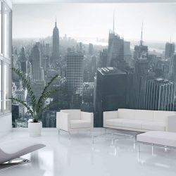 Fotótapéta - New York City skyline fekete-fehér  -  ajandekpont.hu